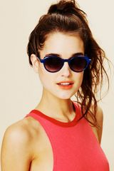 Free People Fold Away Sunglasses - Lyst