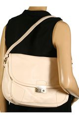 Marc By Marc Jacobs Padded Leather Shoulder Bag in White (s) - Lyst