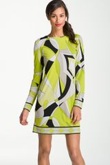 Michael by Michael Kors Print Shift Dress - Lyst
