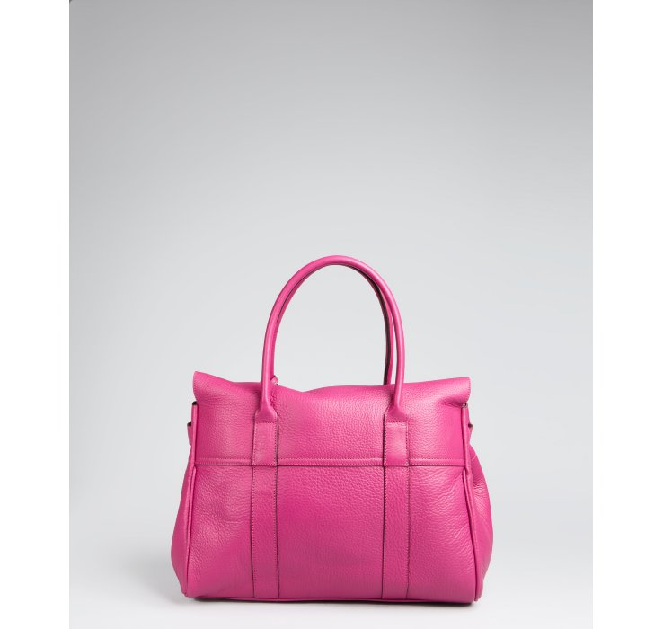 Mulberry Pink Pebbled Leather Bayswater Shoulder Bag in Pink - Lyst 1d989250f1342