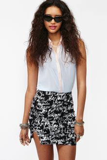Nasty Gal Frenchie Skirt - Lyst