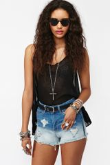 Nasty Gal Good Times Cutoff Shorts - Lyst
