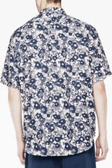 Acne Oahu Cam Css12 in Blue for Men (camo) - Lyst