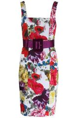 Alice + Olivia Alice Olivia Dress in Floral - Lyst