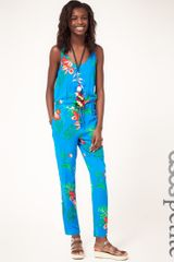 ASOS Collection Asos Petite Exclusive Jumpsuit in Tropical Print - Lyst