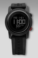 Burberry Digital Watch Black - Lyst