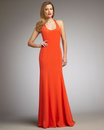 Hoaglund New York Scoop-neck Gown - Lyst