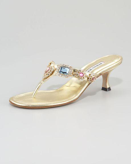 9719b96151d Womens Heels Low heels Manolo Blahnik Heels