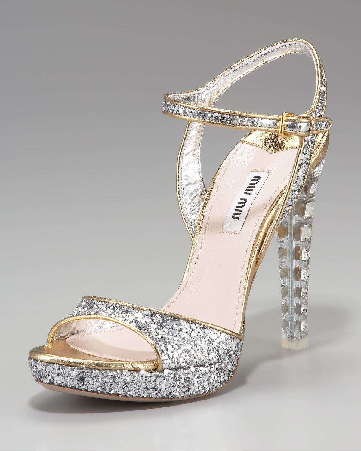 a54d8c841be5 Gallery. Previously sold at  Neiman Marcus · Women s Miu Miu Glitter ...