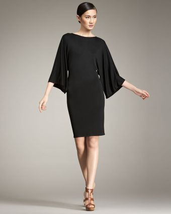 Ralph Lauren Black Label Sonia Kimono-sleeve Dress - Lyst