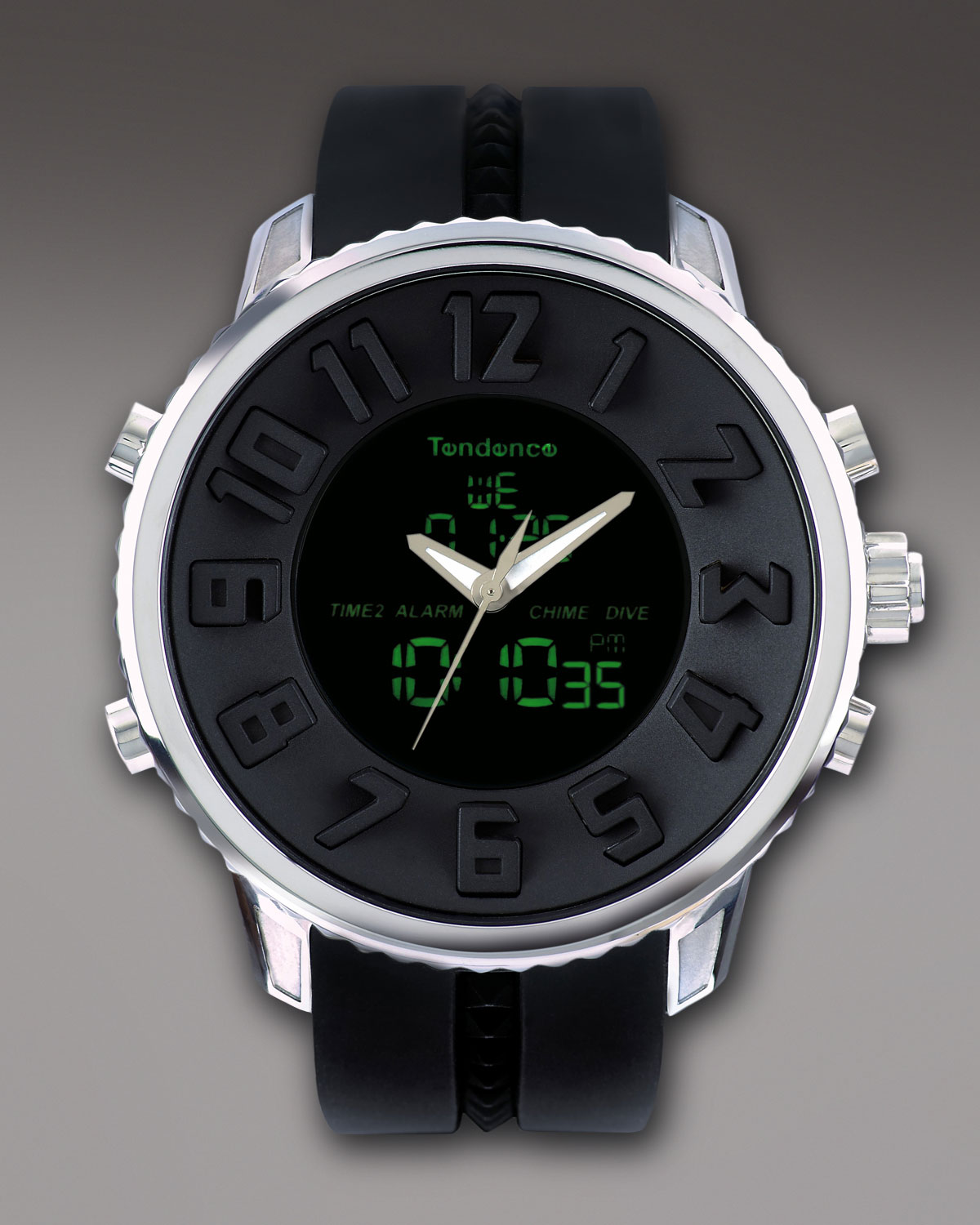 tendence 50mm gulliver diver watch in black for men lyst gallery
