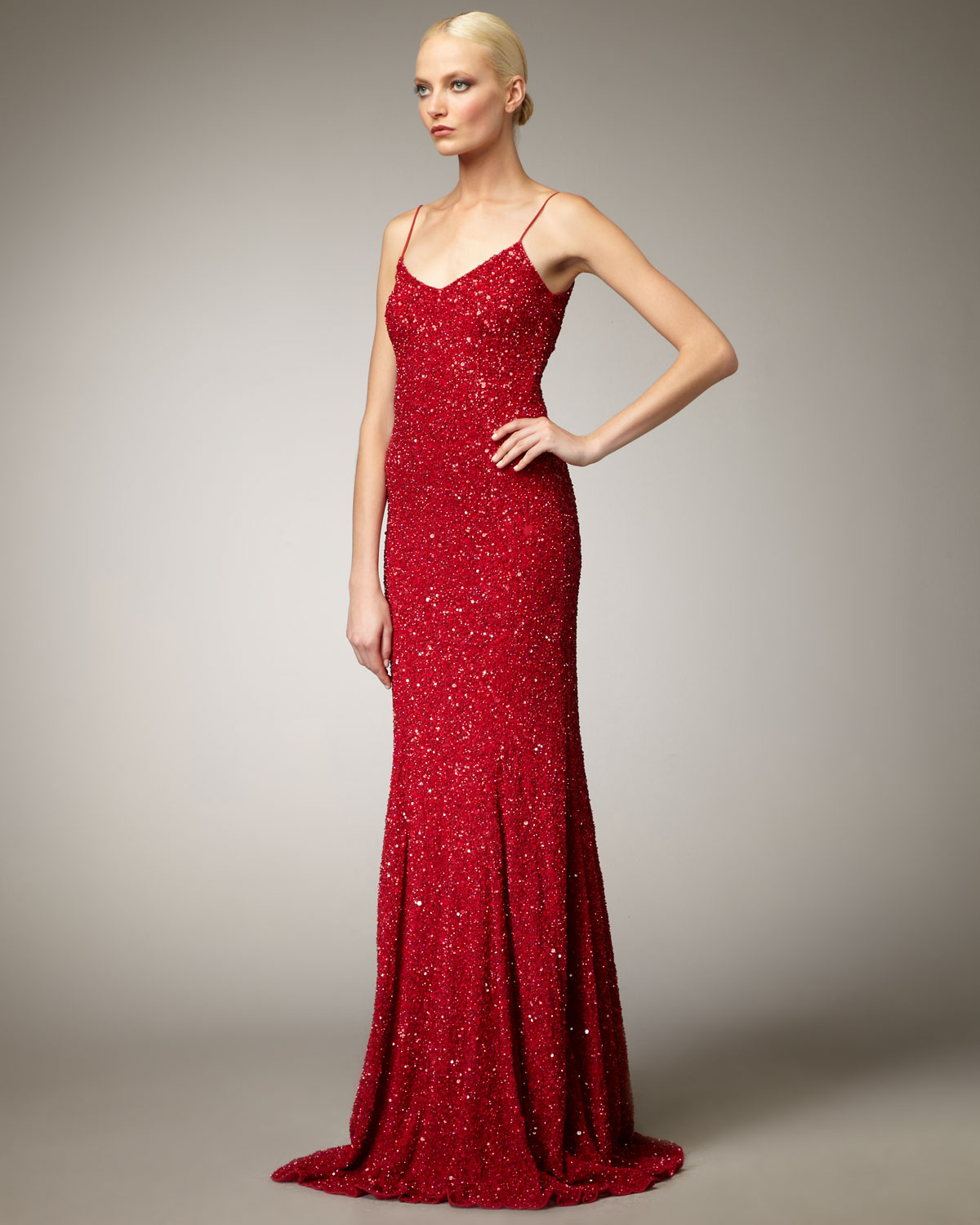 Theia Sequin Dress | Weddings Dresses