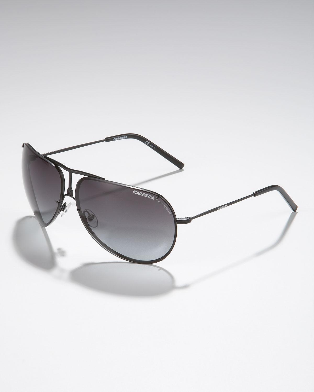 ef96526040ce Carrera Metal Aviator Sunglasses, Matte Black in Black for Men - Lyst