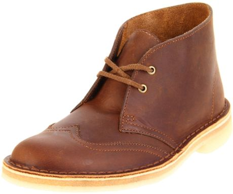 Original  Boots  Ankle Boots  Women39s Clarks Desert Boot Beeswax Leather