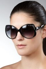 Jimmy Choo Oversized Sunglasses - Lyst