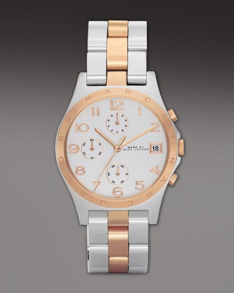Marc By Marc Jacobs Henry Watch in Gold (multi colors) - Lyst