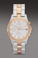 Marc By Marc Jacobs Henry Watch  in Pink (multi colors) - Lyst