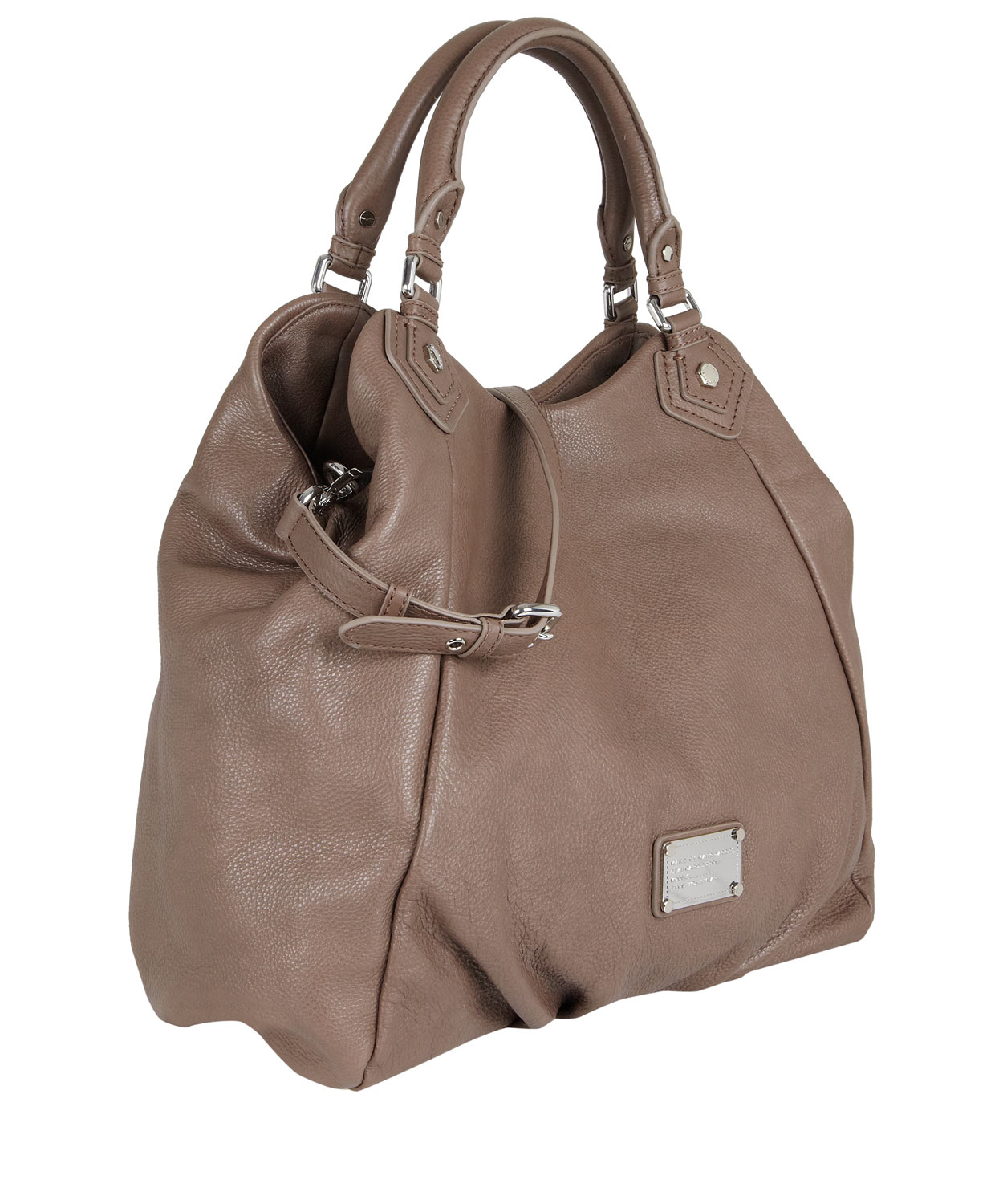 Marc By Marc Jacobs Taupe Classic Q Francesca Tote Bag In