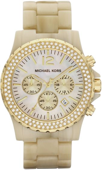 Michael Kors Oversized Madison Chronograph Watch - Lyst