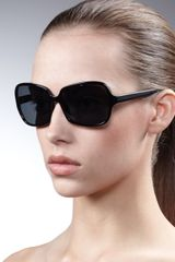 Oliver Peoples Francisca Butterfly-frame Sunglasses - Lyst