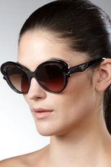 Prada Cateye Sunglasses - Lyst