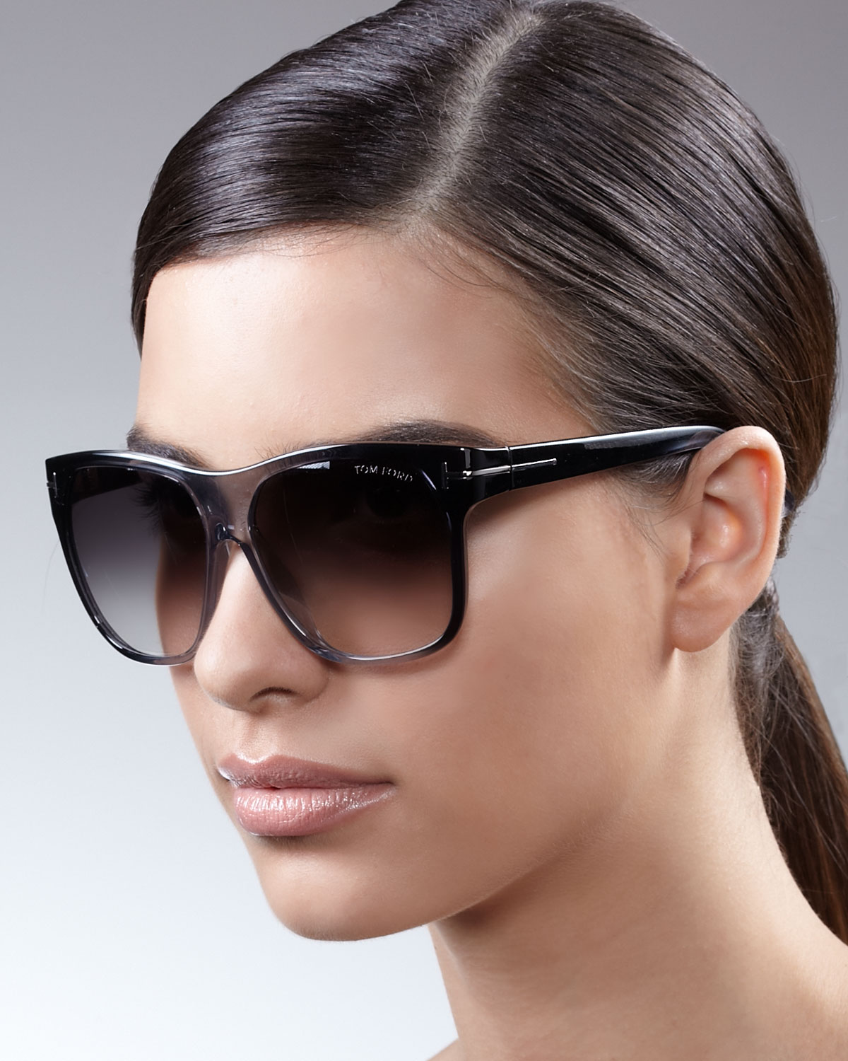 Tom Ford Gradient Sunglasses In Black Lyst