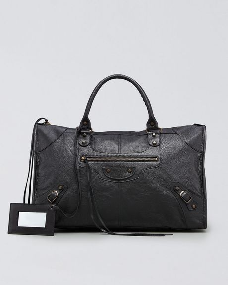 Balenciaga Classic Work Bag in Black - Lyst