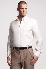Brunello Cucinelli Buttondown Shirt White - Lyst