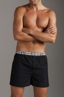 Burberry Boxers with Check Waistband - Lyst