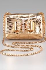 Christian Louboutin Sweety Charity Mini Shoulder Bag in Gold - Lyst