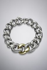 David Yurman Curb Chain Bracelet Extra Large - Lyst