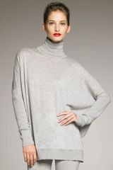 Donna Karan New York Oversize Cashmere Turtleneck - Lyst