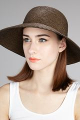 Eric Javits Squishee Iv Hat Medium - Lyst