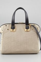 Fendi Chameleon Canvas Grommet Bag - Lyst