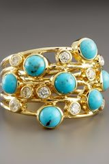 Ippolita Turquoise Diamond Constellation Ring - Lyst