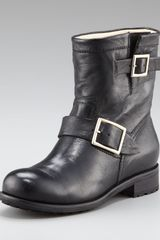 Jimmy Choo Youth Biker Ankle Boot - Lyst