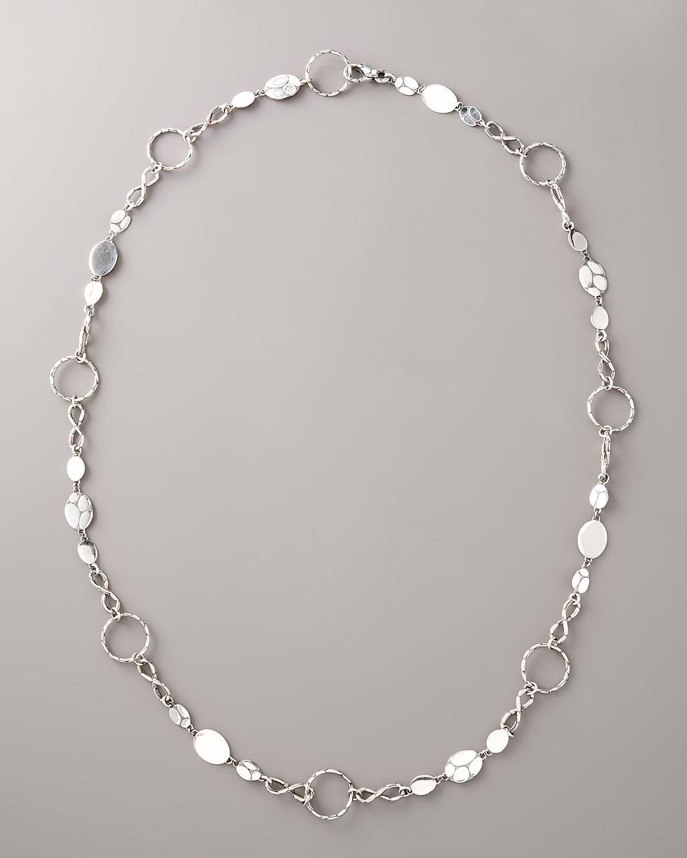 John Hardy Kali Round-Link Infinity Necklace, 36L