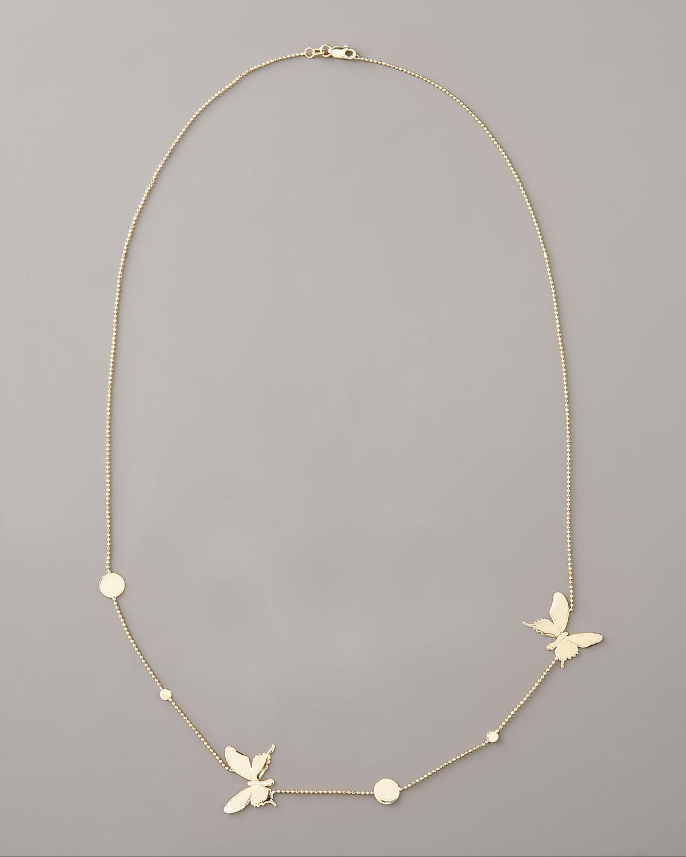 Lyst Lana Jewelry Butterfly Necklace in Metallic