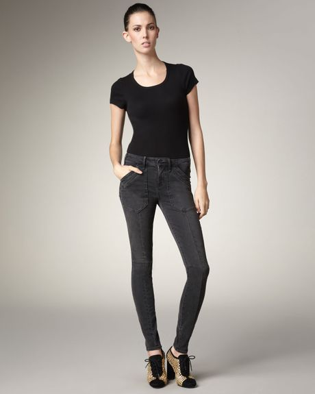 Marc By Marc Jacobs Military Leggings in Black (bowery fever) - Lyst