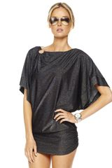 Michael by Michael Kors Shimmer Solids Coverup - Lyst