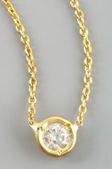 Roberto Coin Station Diamond Necklace - Lyst