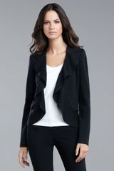 St. John Collection Ruffled Jacket - Lyst