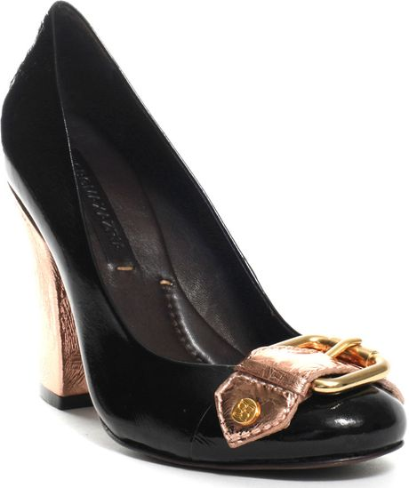 Bcbgmaxazria Javana in Black (copper) - Lyst