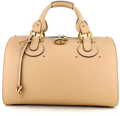Chloé Buff Aurora in Beige (gold) - Lyst
