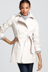 DKNY Rosy Double Breasted Coat - Lyst