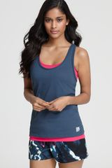 DKNY Two Layered Tank Top - Lyst