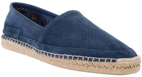 Emporio Armani Espadrilles in Blue for Men - Lyst