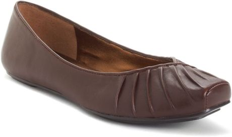 Jessica Simpson Emmly Flats in Brown (saddle) - Lyst