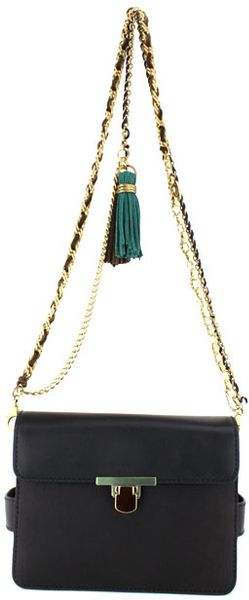 Lanvin Black Sac Daddy Clutch in Black - Lyst