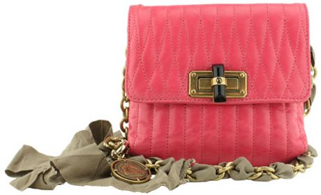 Lanvin Sac Mini Pop Metallic Bag in Pink - Lyst